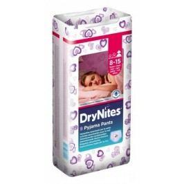 Huggies DryNites kalhotkové pleny pro dívky 8-15 let (27-57kg), 9ks