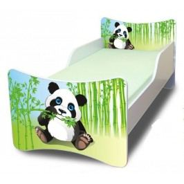 Ourbaby Dětská postel Panda, 140x70 cm