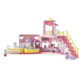 Mikro hračky Minnie restaurace 40 x 15 x 28 cm