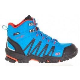 Trollkids Chlapecká outdoorová obuv Trolltunga Hiker Mid - světle modrá