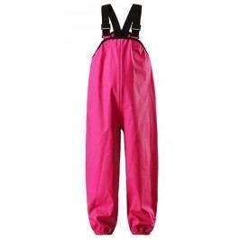 Reima Dívčí nepromokavé kalhoty Lammikko - růžové