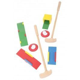 Bigjigs Dřevěné hry - Sada Crazy golf