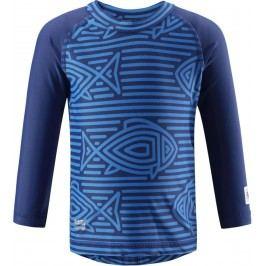 Reima Chlapecké plavecké triko Borneo s UV ochranou 50+ modré