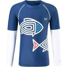 Reima Chlapecké plavecké triko Bay s UV ochranou 50+ - modré