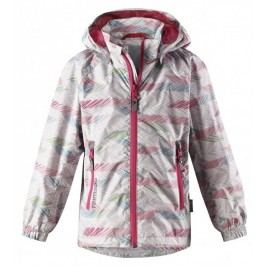 Reima Dívčí vzorovaná bunda Zigzag - barevná
