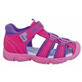 Protetika Dívčí sandály Art - růžové