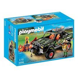 Playmobil 5558 džíp s kánojí