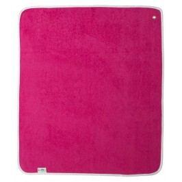 Luma Set ručník a žínka - Magneta pink