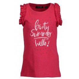 Blue Seven Dívčí tričko Fruity Summer - červené