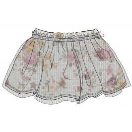 Mix 'n Match Dívčí sukně - barevná