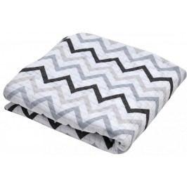 Lodger Cocooner šátek na nošení, Limited Edition, Zig Zag Print Black-White