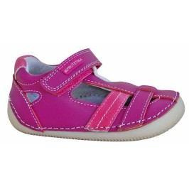 Protetika Dívčí sandály barefoot Glen - růžové