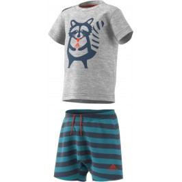 adidas Chlapecký set trička a šortek - barevný