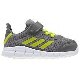 adidas Chlapecké tenisky RapidaFlex - šedé