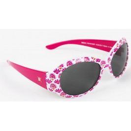 Hatley Dívčí sluneční brýle s kytičkami - růžové