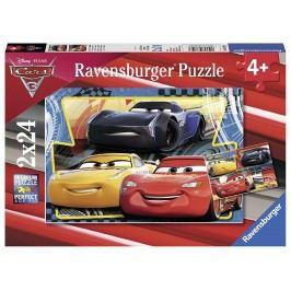 Ravensburger Disney Auta 3   2x24 dílků