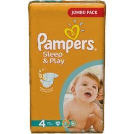 Pampers Sleep&Play 4 Maxi 7-14kg, 68ks