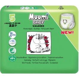 Muumi Baby dětské jednorázové pleny Walkers 22 ks Maxi+ 7-15 kg