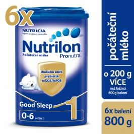 Nutrilon kojenecké mléko 1 Pronutra Good Sleep 6x 800g