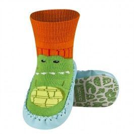 SOXO® Chlapecké ponožky s podrážkou Krokodýl - barevné