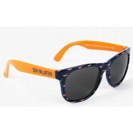 Hatley Chlapecké brýle s velrybkami - modro-oranžové