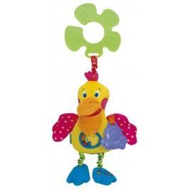 K's Kids Pestrobarevný měkký míč      Rozvíjí hmat, učí děti barvy a podporuje k pohybu.     Vydává zvuky (chrastí).     Vyroben z velmi jemného plyše.     Průměr míčku je 10 cm.     Vhodné pro děti: od 3 měsíců.