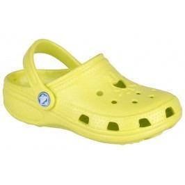 Coqui Dětské sandály Big Frog - světle žluté