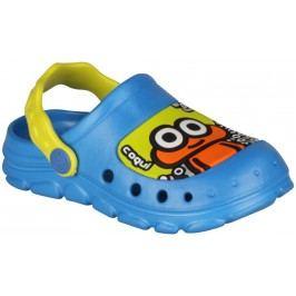 Coqui Chlapecké sandály Stoney - modro-žluté