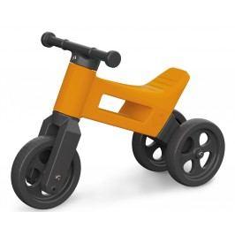 Teddies Odrážedlo Funny Wheels 2v1 oranžová