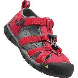 Keen Chlapecké sandály Seacamp II CNX, racing red/gargoyle