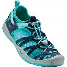 Keen Chlapecké sandály Moxie Jr, quiet green/aqua sea - světle zelené