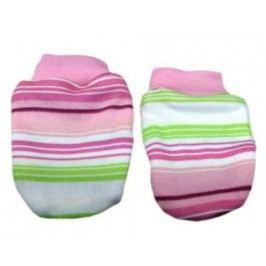 Mamatti Dívčí proužkované rukavičky - barevné