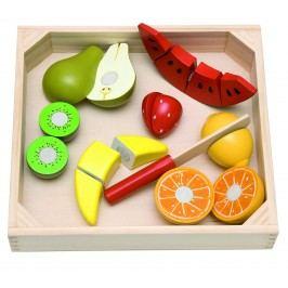 WOODY Krájení na prkénku - ovoce s melounem