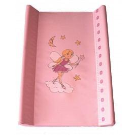 Bobobaby Přebalovací podložka měkká 50x70 cm růžová víla