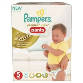 Pampers plenkové kalhotky Premium Pants 5 Junior 40 ks