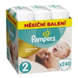 Pampers Premium Care 2 Měsíční balení, 240ks