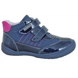 Protetika Dívčí kotníkové boty Deli - modré