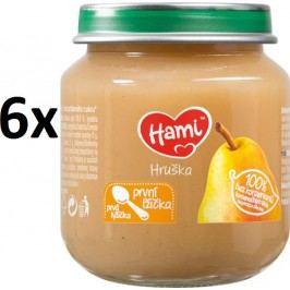 Hami První lžička Hruška, 6x125g