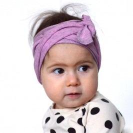 Lamama Dívčí čelenka - fialová