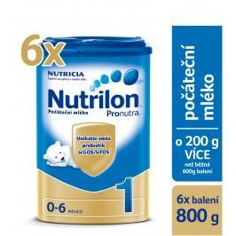 Nutrilon 1 počáteční kojenecké mléko Pronutra 6x800g