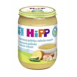 HiPP BIO Zeleninová polévka s telecím masem 6x190g