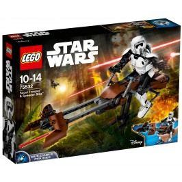 LEGO® Construction Star Wars 75532 Průzkumný voják a speederová motorka