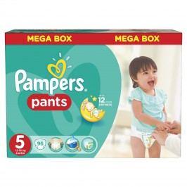 Pampers Pants plenkové kalhotky 5 Junior (12-18 kg), 96 ks