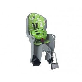 Hamax Cyklosedačka KISS + helma, zelená