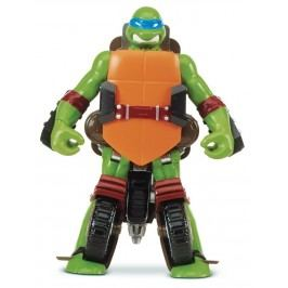 TMNT Želvy Ninja TRANSFORM to vehicle LEONARDO