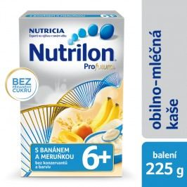 Nutrilon Mléčná kaše krupicová s banánem a meruňkou, 225g