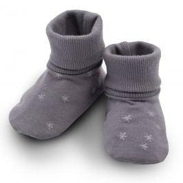 Pinokio Dětské capáčky/ ponožky s hvězdičkami Magic - šedé
