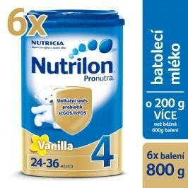Nutrilon 4 Pronutra Vanilla - 6 x 800g