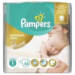 Pampers Premium Care 1, 88 ks (2-5 kg) - jednorázové pleny