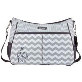 Bebe-jou Luxusní přebalovací taška Chevron Grey